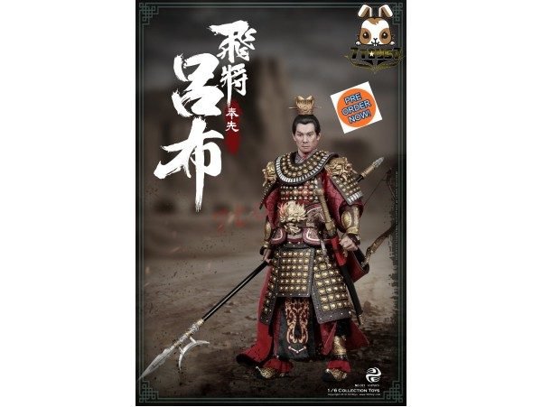 [Pre-order] 303 Toys 1/6 321 Three Kingdoms Series – Soaring General Lu Bu A.K.A Fengxian_ Box Set _3T033Y