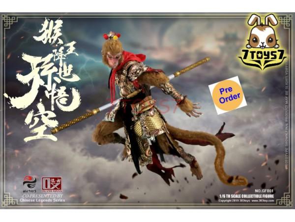 [Pre-order] 303 Toys x OuZhiXiang 1/6 GF001 Chinese Legends Series: Sun Wukong - Monkey King begins_ Box _3T035X