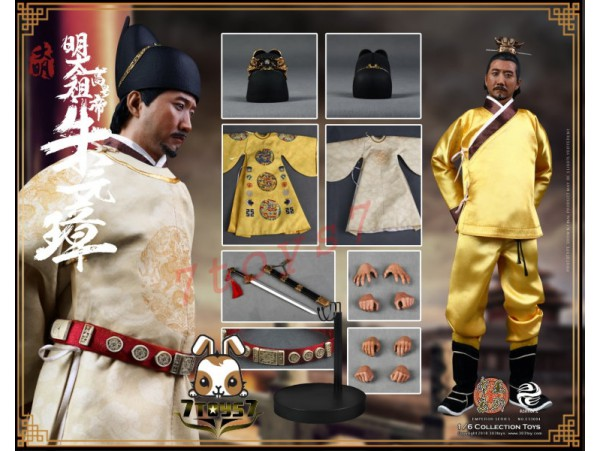 303 Toys 1/6 Series of Emperors - Zhu YuanZhang_ Box Set _Ming Dynasty China 3T032Z