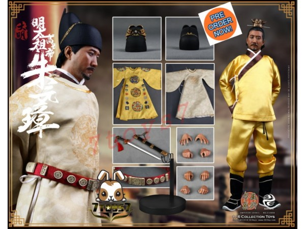 [Pre-order] 303 Toys 1/6 Series of Emperors - Zhu YuanZhang_ Box Set _Ming Dynasty China 3T032Z