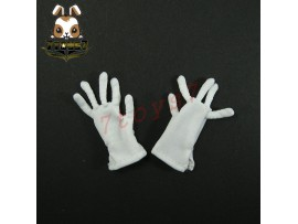 3R 1/6 GM609 German Leader_ White Gloves _Germany WWII 3R005W