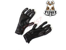 3R 1/6 GM613 Joseph Goebbls_ Black Gloves _German WWII 3R008C
