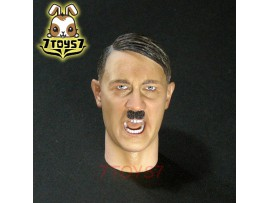 3R 1/6 GM640 Adolf Hitler (1989-1945)_ Head _open mouth German leader Now 3R034A