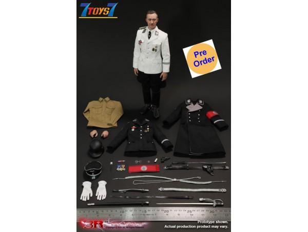[Pre-order deposit] 3R 1/6 GM645 Heinrich Himmler_ Box Set _German WWII 3R038Z