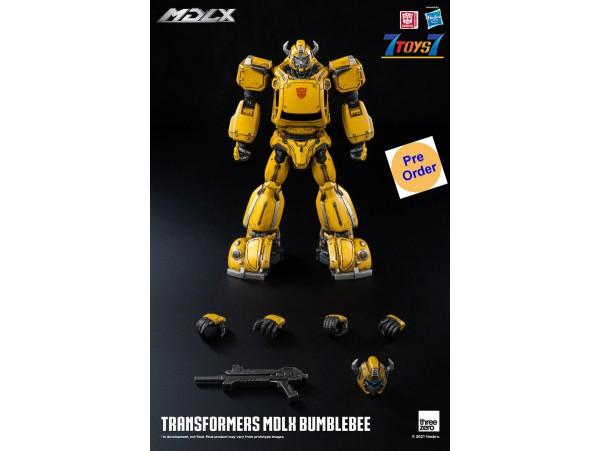 "[Pre-order deposit] Threezero 5"" Transformers - MDLX Bumblebee (Retail)_ Box Set _3A487Z"