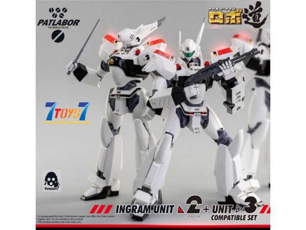 Threezero 1/35 ROBO-DOU Mobile Police Patlabor Ingram Unit 2 + Unit 3 Compatible_ Box _3A423Y