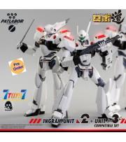 [Pre-order deposit] Threezero 1/35 ROBO-DOU Mobile Police Patlabor Ingram Unit 2 + Unit 3 Compatible_ Box _3A423Y
