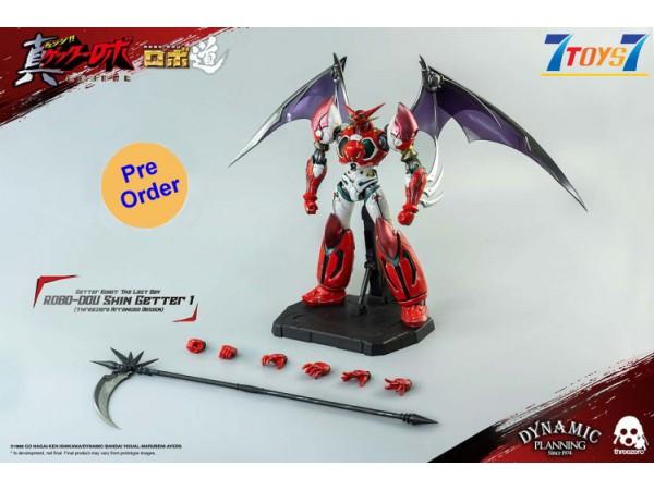 [Pre-order deposit] Threezero 23cm ROBO-DOU Shin Getter 1 (Anime color version) (threezero Arranged Design)_ Box _ 3A447A