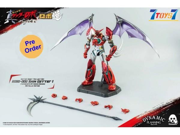 [Pre-order deposit] Threezero 23cm ROBO-DOU Shin Getter 1 (Metallic color version) (threezero Arranged Design)_ Box _ 3A447B