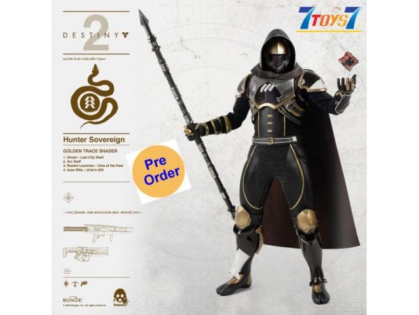 [Pre-order deposit] Threezero 1/6 Destiny 2 - Hunter Sovereign (Golden Trace Shader)_ Box Set _ 3A442B