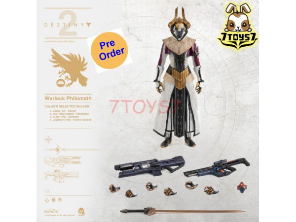 [Pre-order deposit] Threezero 1/6 Destiny 2 Warlock Philomath - Calu's Selected Shader_ Box Set _3A427A