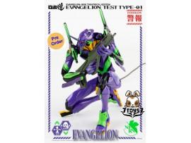 [Pre-order deposit] Threezero 9.8inches 25cm ROBO-DOU Evangelion Test Type-01_ Box Set _3A429Z