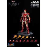 Threezero 1/12 Infinity Saga - DLX Iron Man Mark 43 (2nd Batch)_ Box Set _3A463Z
