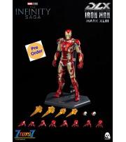 [Pre-order deposit] Threezero 1/12 Infinity Saga - DLX Iron Man Mark 43 (2nd Batch)_ Box Set _3A463Y
