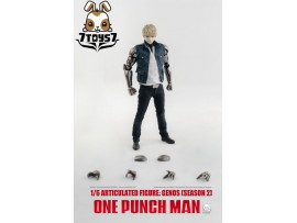 Threezero 1/6 One-Punch Man - Genos Season 2_ Deluxe Box _3A431Y