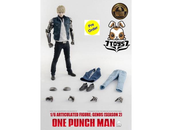 [Pre-order deposit] Threezero 1/6 One-Punch Man - Genos Season 2_ Deluxe Box _3A431Y