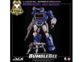 "Threezero 11.2"" Transformers Bumblebee DLX Soundwave and Ravage_ Box Set _3A428Z"