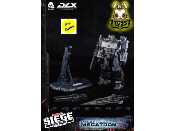 [Pre-order deposit] Threezero DLX Transformers: War For Cybertron Trilogy - Megatron_ Box Set _3A439Z