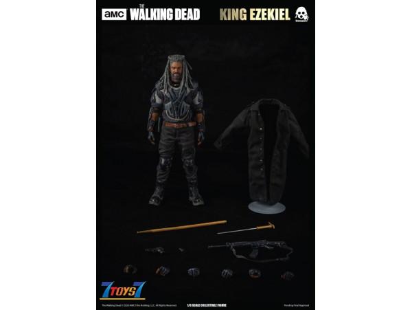 Threezero 1/6 Walking Dead - King Ezekiel_ Box Set _TV Now 3A438Z