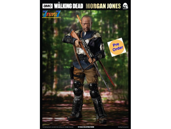 [Pre-order deposit] Threezero 1/6 The Walking Dead - Morgan Jones (Season 7)_ Box Set _3A465Z
