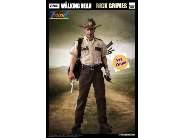 [Pre-order deposit] Threezero 1/6 Walking Dead - Rick Grimes (Season 1)_ Box Set _TV Now 3A489Z