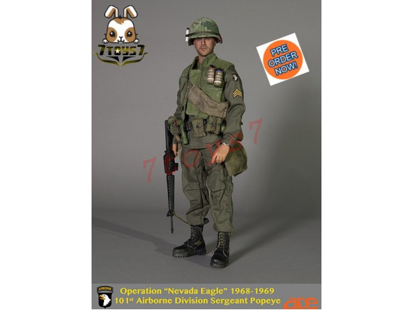 "[Pre-order] ACE 1/6 Operation ""Nevada Eagle"" 101st Airborne Division Sergeant Popeye_ Box Set _AE018Z"