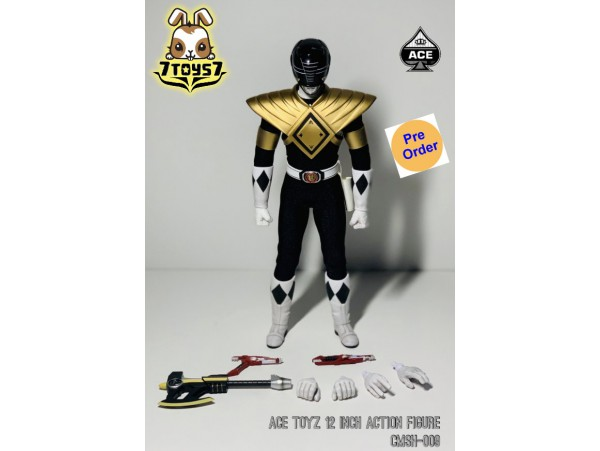 [Pre-order deposit] ACE Toys 1/6 Super Hero series: The Classic Mighty Super Hero (Golden Black Hero)_ Box Set _AE004B