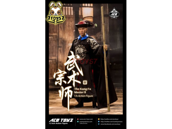 ACE Toyz 1/6 Kung Fu Master 2_ Box Set _Donnie Movie  Now AZ012Z