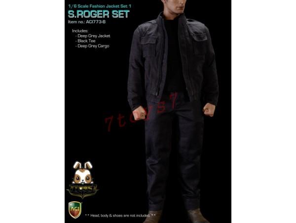 ACI Toys 1/6 Fashion Jacket Set_ S.Roger Set (ACI-773) #B_ Full Set AT087Z