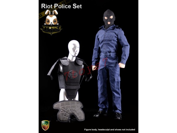 ACI Toys 1/6 Power Set Anti Riot Police (Light Armor Version)_ Set _Now AT099Z
