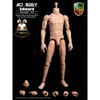 ACI Toys 1/6 B-5 Medium Built Body: Edward_ Body + hands Set _Now AT098A