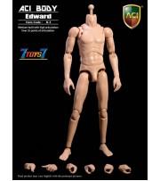 ACI Toys 1/6 B-5-2 Medium Built Body: Edward_ Loose Set _No original Box AT098C