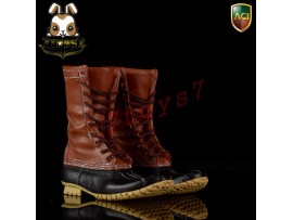 ACI Toys 1/6 Fashion Boots S4 749A_ Outdoor Hunting Boots: Light brown _AT084A