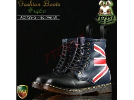 ACI Toys 1/6 Fashion Boots S2 1460_ Flag Ver.B 8 holes #729G_ Now AT029H