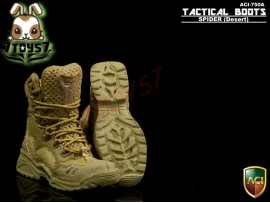ACI Toys 1/6 Tactical Boots - Spider_ Desert Boots _Military Now AT052A