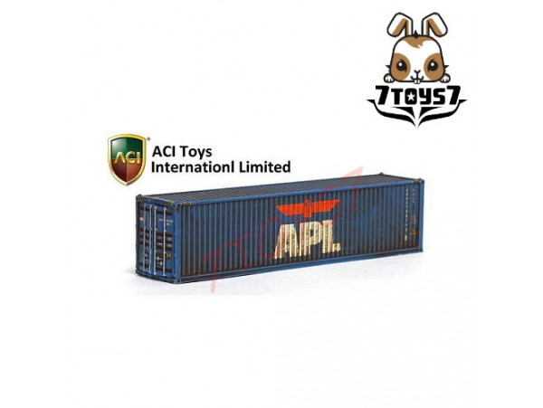 ACI Toys 1/150 40 Feet Container Vol.2_ APL (Worn Version) AT030N