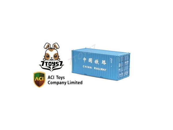ACI Toys 1/150 20 Feet Container_ China Railway AT016B