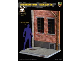 [Pre-order] ACI Toys 1/12 ACI801B Diorama Back Alley_Rear Window Set B _AT106B