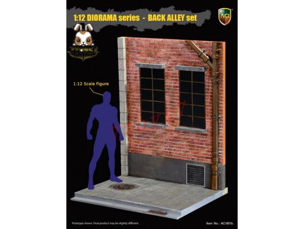 [Pre-order] ACI Toys 1/12 ACI801B Diorama Back Alley_Rear Window Set B _AT106B