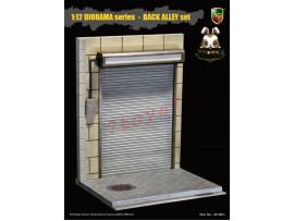 ACI Toys 1/12 ACI801C Diorama Back Alley_ Roller Shutter Door Set C _AT106C-Pre-Order