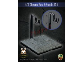 ACI Toys 1/6 S7-1 Diorama Base & Stand_ Stand _Now AT095A