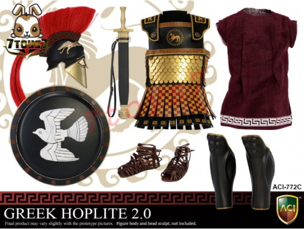 ACI Toys 1/6 Power Set - Greek Hoplite 2.0_ Suit Set C _Warriors Ancient AT100Y