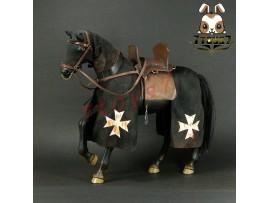 ACI Toys 1/6 H01 War Horse for Hospitaller: Black_ Box Set _Medieval AT070Z