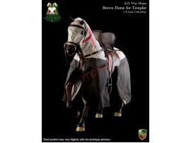 ACI Toys 1/6 H02 War Horse for Templar Knight: Brown_ Box Set _Medieval AT093Z