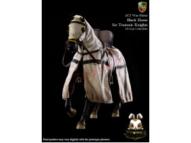ACI Toys 1/6 H03A War Horse for Teutonic Knight: Black_ Box Set _Medieval AT093Y