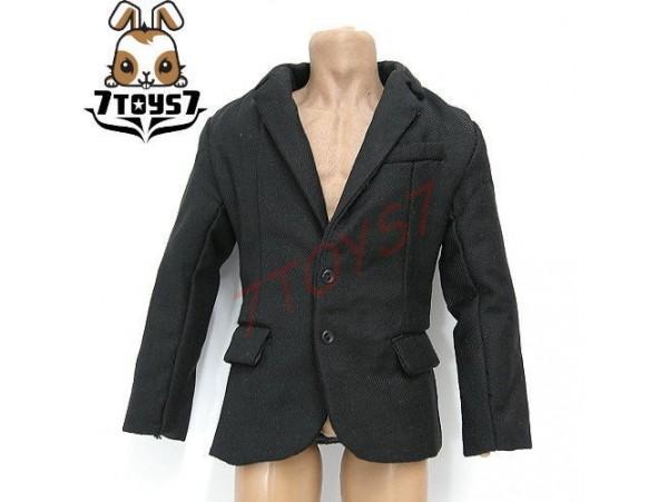 ACI Toys 1/6 Men in Suit 01_ Black Blazer Only_ Formal Suit ATX03D