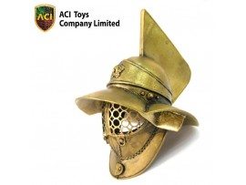 ACI Toys 1/6 Museum_ Myrmillo Gladiator Helmet _Bronze Ancient Roman  AT010Z