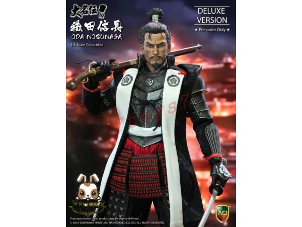 ACI Toys 1/6 ACI31SP Oda Nobunaga_ Deluxe Box Set_ Suwahara Hiroyuki Now AT101X