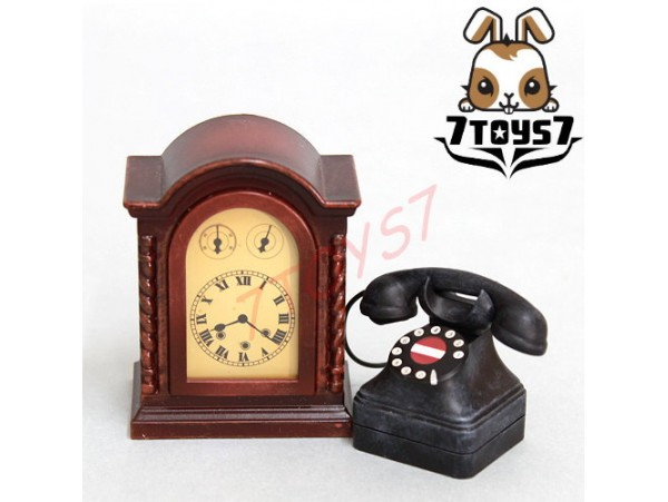 ACI Toys 1/6 Sun Yat Sen Accessories_Telephone + Clock _Classic AT022H