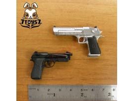 ACI Toys 1/6 Pistol Set #C_ Desert E and 90 Two _Toys gun Firearms Now AT033Y